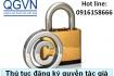 Thủ tục đăng ký quyền tác giả tại Việt Nam