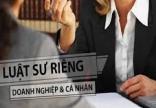 Dịch vụ luật sư riêng cho doanh nghiệp