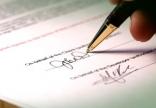 Di chúc đánh máy có chữ ký và điểm chỉ có hợp pháp không?