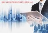 Điều kiện kinh doanh bất động sản từ 01/01/2021